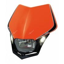Mascherina Faro Anteriore Rtech V-Face LED Arancione KTM