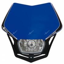 Mascherina Faro Anteriore Rtech V-Face Blu Yamaha