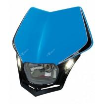 Mascherina Faro Anteriore Rtech V-Face LED Blu TM