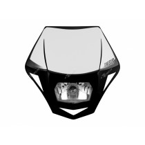 Mascherina Faro Anteriore Rtech Genesis Nero Black Headlight