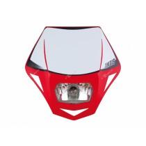 Mascherina Faro Anteriore Rtech Genesis Rosso Honda Headlight