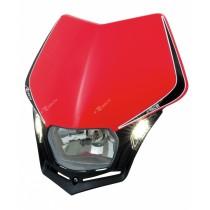 Mascherina Faro Anteriore Rtech V-Face LED Rosso Honda