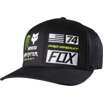 Cappellino Fox Monster Energy Flexfit Union Hat