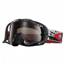 Maschera Oakley Crowbar Mx Podium Check oo7025-21