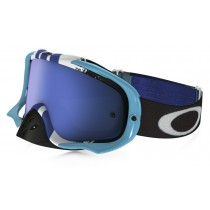 Maschera Oakley Crowbar Mx - Pinned Race Blue OO7025-38