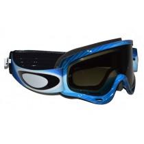 Maschera Oakley O-Frame MX Blue / Dark Grey oo7029-20 Goggles