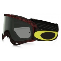 Maschera Oakley O-Frame Mx - Distress Tagline Red OO7029-29