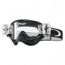 Maschera Oakley O-Frame Mx - Race Ready Roll Off Jet Black OO7029-32