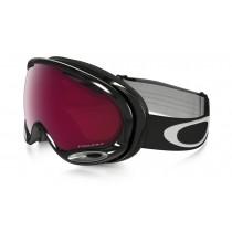 Maschera Snow Oakley A Frame 2.0 Jet Black / PRIZM Rose