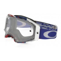 Maschera Oakley Airbrake MX High Voltage / Clear oo7046-11 Goggles Brillen