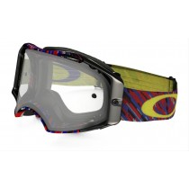 Oakley Airbrake Mx Rain Of Terror Red Blue Clear