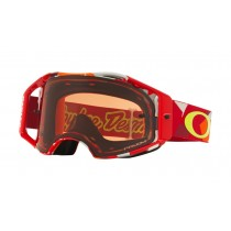 Oakley Airbrake Mx TLD Splinter Orange Bronze Prizm