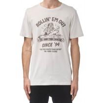 T-shirt Globe Rollin Tee Oyster