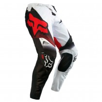Pantaloni Fox 360 Shiv Black White Red