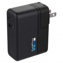 Caricabatterie a doppia porta internazionale GoPro Supercharger